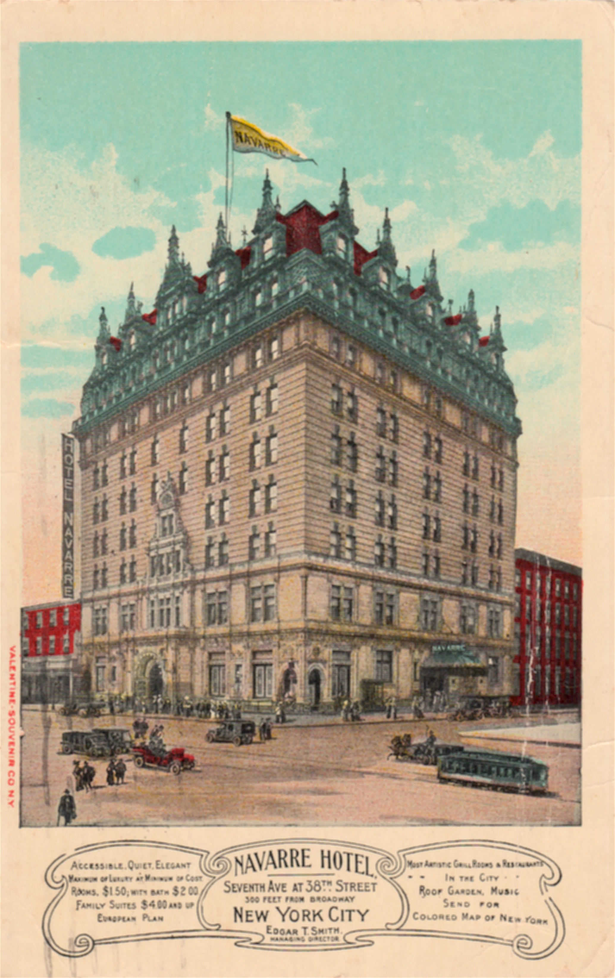 Gilded Age Extravagance At The Hotel Navarre Ephemeral