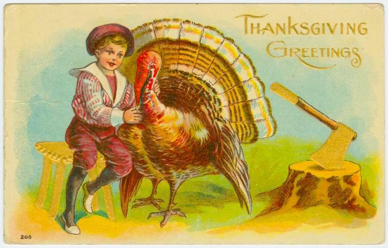 Thanksgiving vintage cards   Ephemeral New York