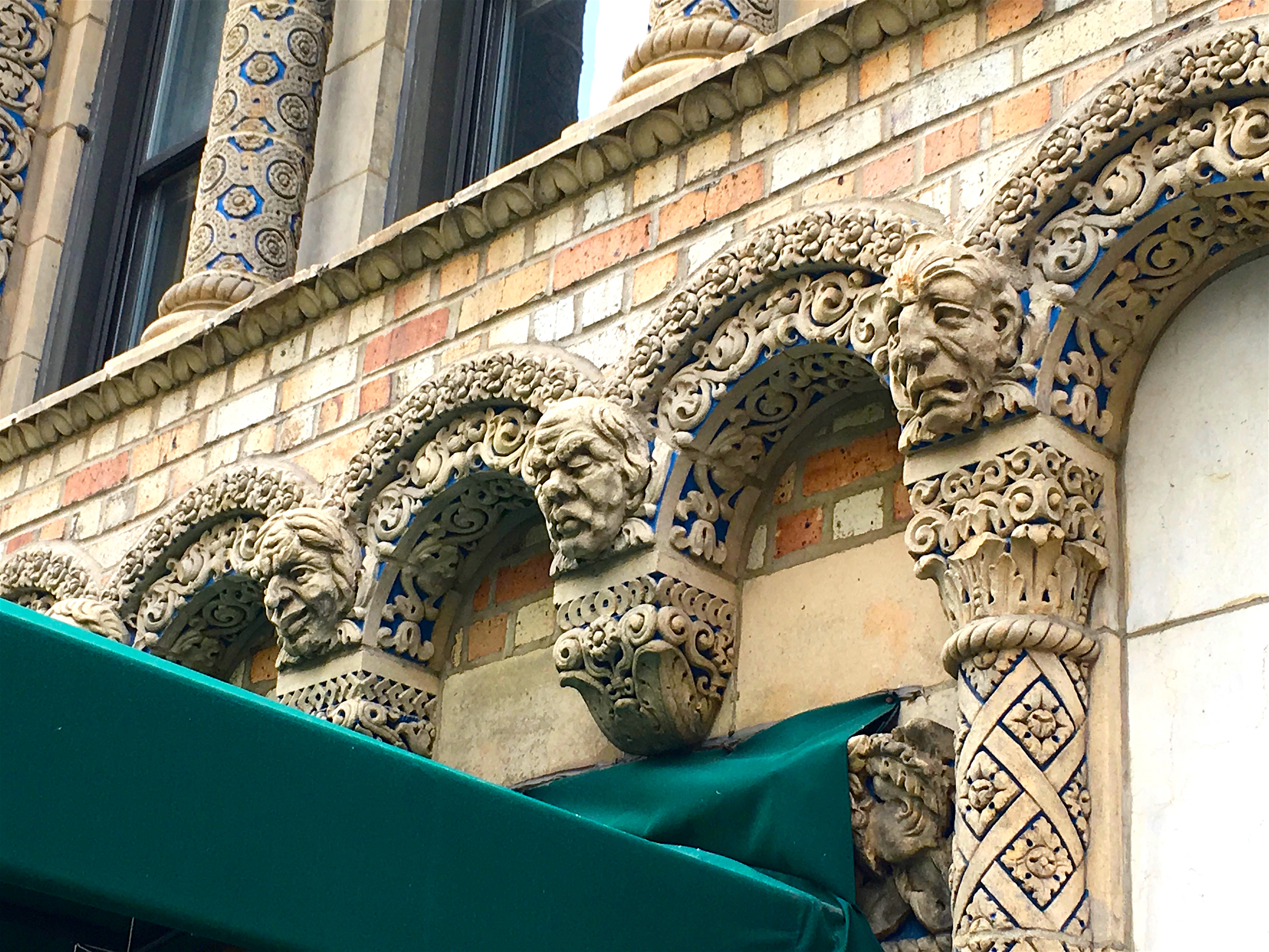 Park Avenue S Terra Cotta Tapestry Of Grotesques New
