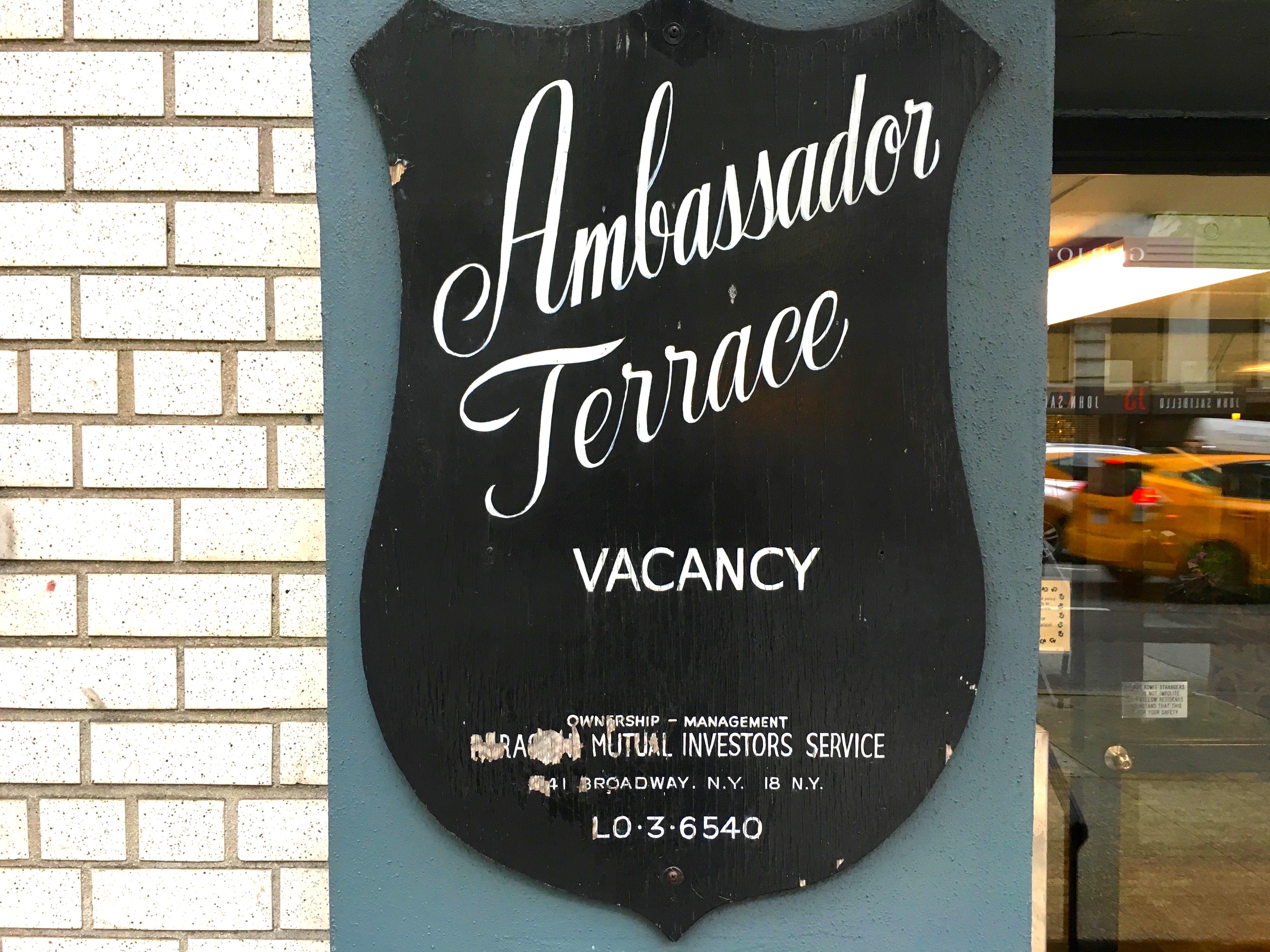 old New York signs | Ephemeral New York