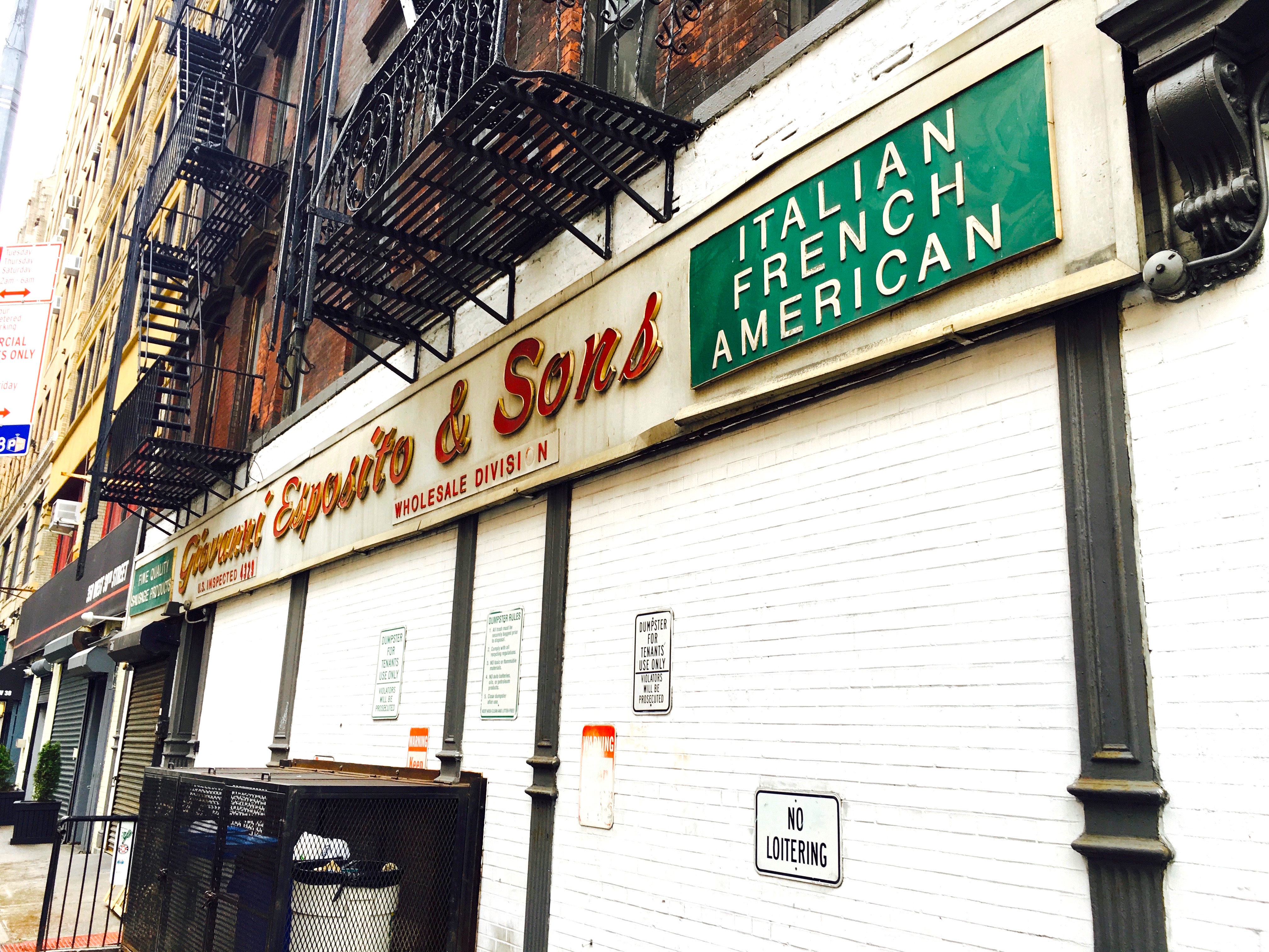 The best old-school butcher sign on Ninth Avenue | Ephemeral